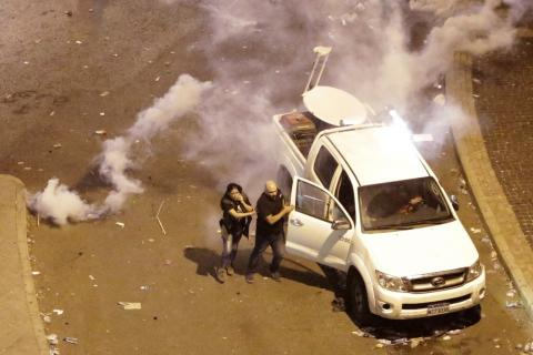 Lebanon´s Journalists Suffer Abuse, Threats in Covering Unrest