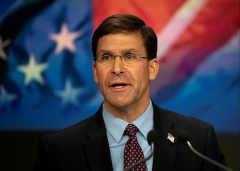 Defense Secretary: US Military Has Enough Capability in Mideast for Now