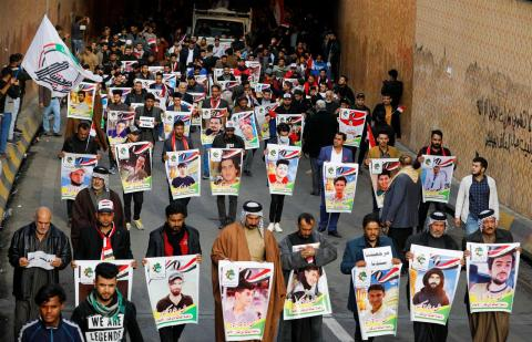Shadow of Int'l Intervention Looms Large over Iraq after Protest Violence