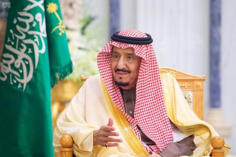 King Salman Receives Message from King of Bahrain