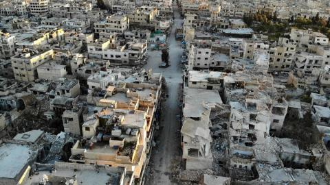 Syrian Regime, Backed by Russia, Inches Closer to Maarat al-Numan
