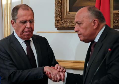 Egypt, Russia Agree to Resolve Palestinian Conflict According to International Resolutions
