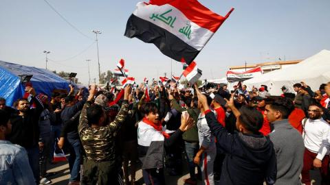Najaf Buries its Dead as Sadr is Blasted for Attacks on Iraq Protesters