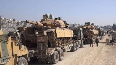 Turkish Forces Strike back after 5 Soldiers Killed in Syria