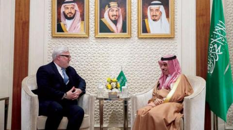 Saudi Officials Hold Talks with US Special Envoy for Syria