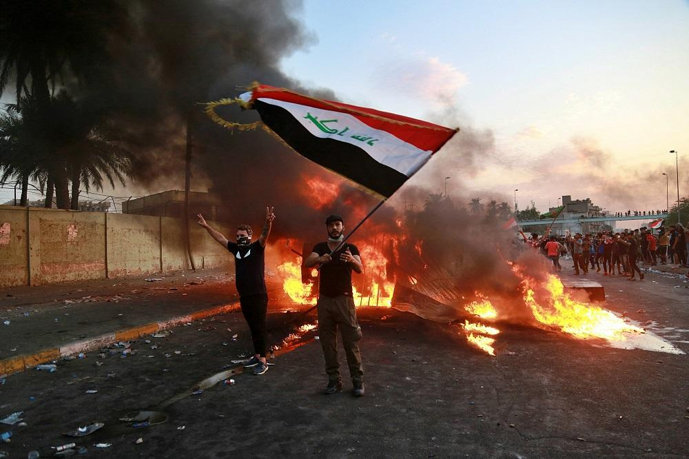 Iraq's Uprising an Open Crisis with No Known Path Forward